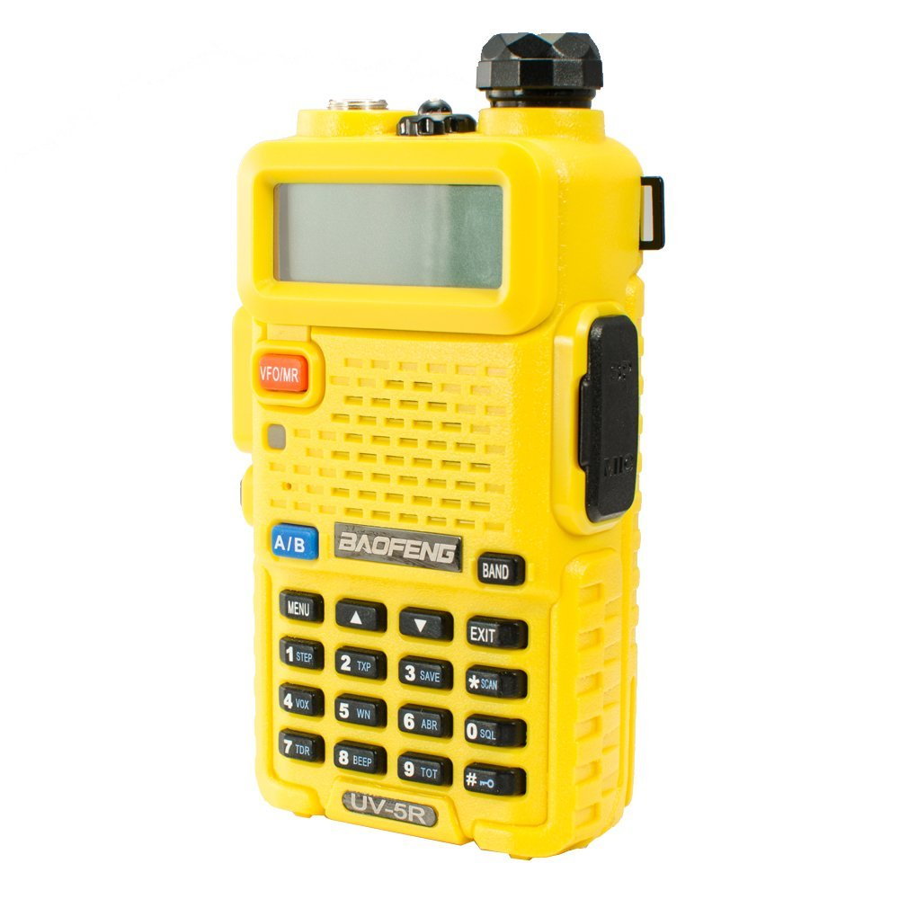 BAOFENG UV-5R yellow